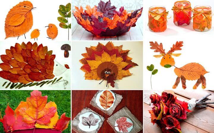 podelki-iz-osennih-listev-svoimi-rukami-0 Поделки из осенних листьев своими руками, идеи с фото, мастер-классы