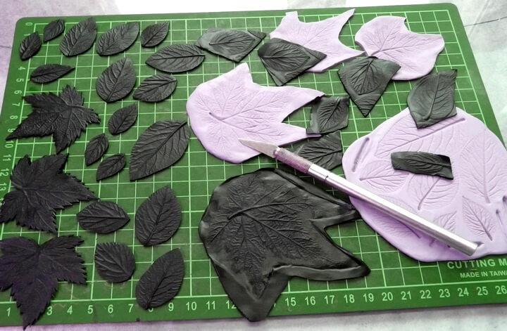 украшения из листьев