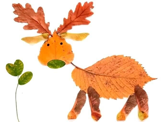 podelki-iz-osennih-listev-svoimi-rukami-3 Поделки из осенних листьев своими руками, идеи с фото, мастер-классы