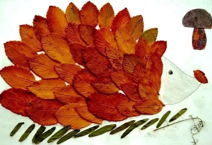 podelki-iz-osennih-listev-svoimi-rukami-7 Поделки из осенних листьев своими руками, идеи с фото, мастер-классы