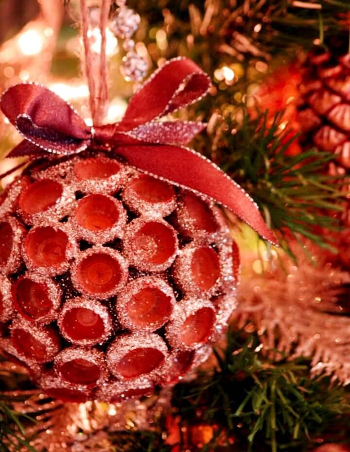 новогодние украшения из желудей