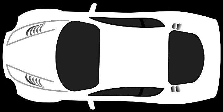 шаблон спортивное авто
