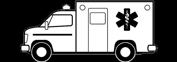 шаблон машина скорой помощи