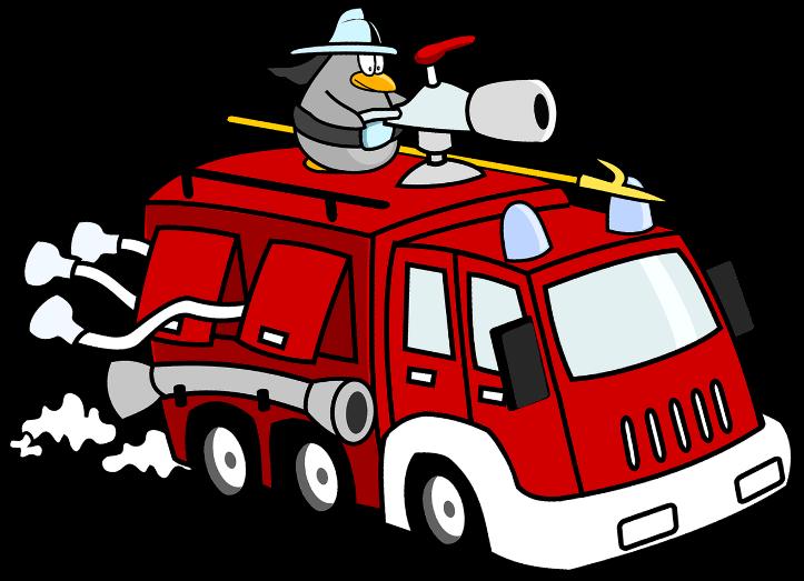шаблон пожарной машины