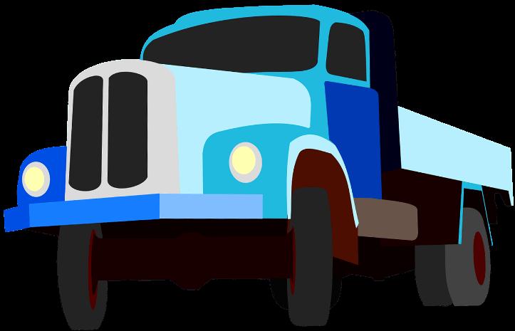 шаблон грузовик