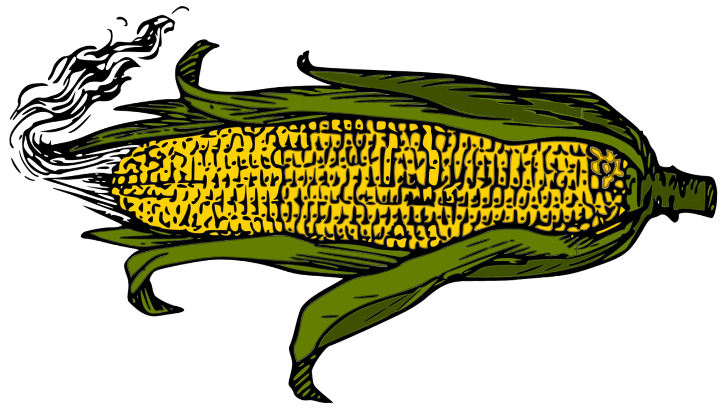 шаблон кукурузы