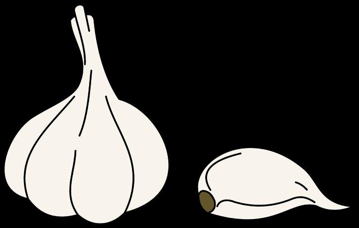 шаблон чеснок