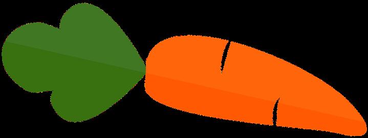 шаблон моркови