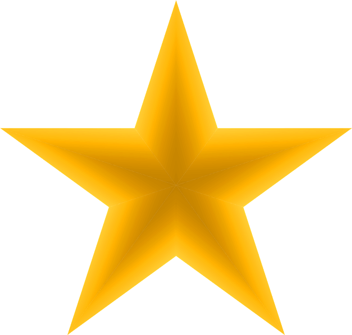 шаблон золотая здвезда