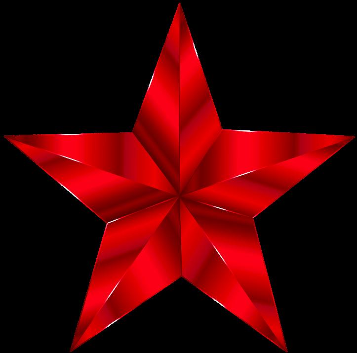 шаблон красная звезда