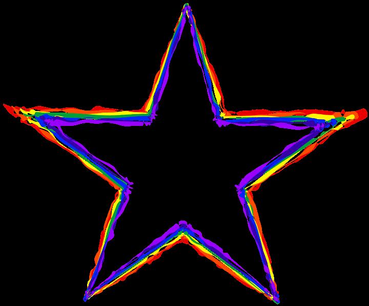шаблон звезда