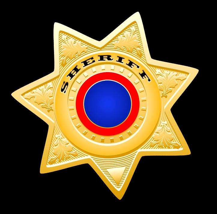 шаблон звезды шерифа