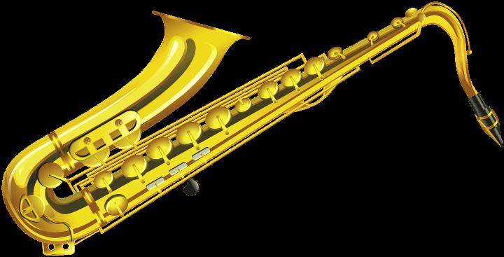 шаблон саксофона