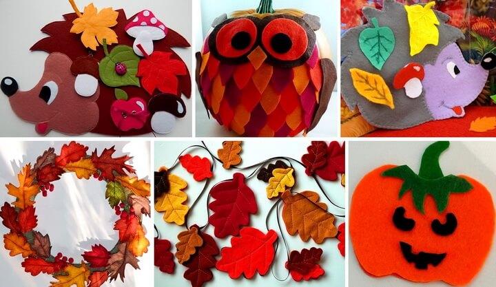 osennie-podelki-iz-fetra-svoimi-rukami-0 Поделки из фетра своими руками на тему «осень»: лучшие идеи