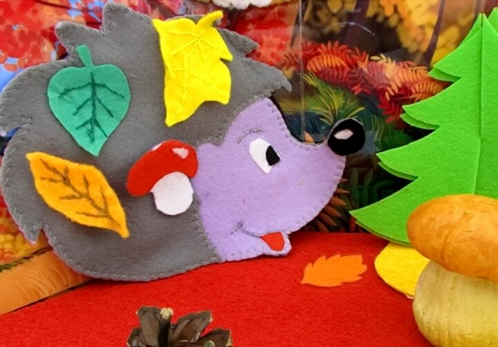 osennie-podelki-iz-fetra-svoimi-rukami-3 Поделки из фетра своими руками на тему «осень»: лучшие идеи