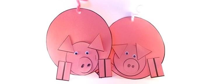 podelki-iz-bumagi-na-novyj-god-2019-svoimi-rukami-1 Свинки из бумаги своими руками пошагово с фото. Шаблоны