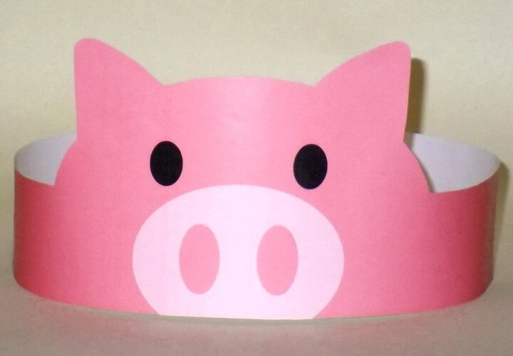 корона в виде свиньи