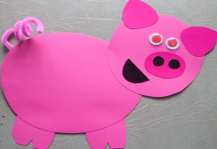 свинья-аппликация