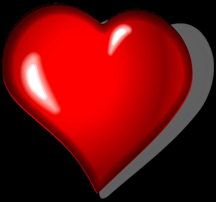 шаблон сердечко