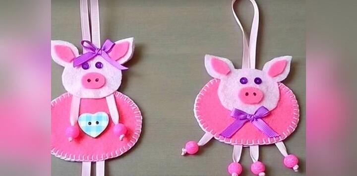 подвесные свинки