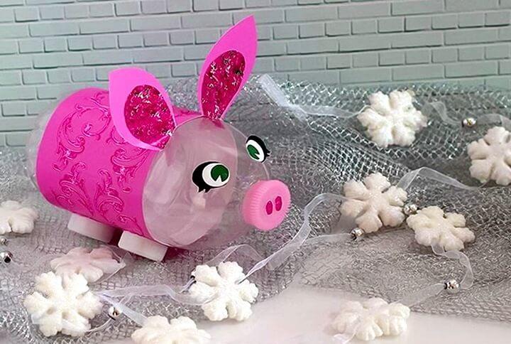 свинья из бутылки