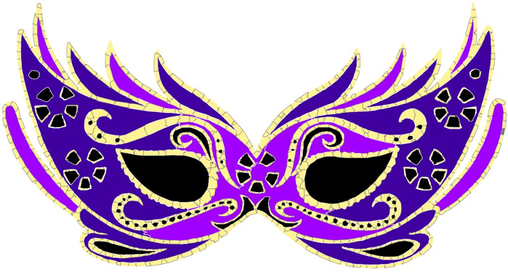 маска на новый год