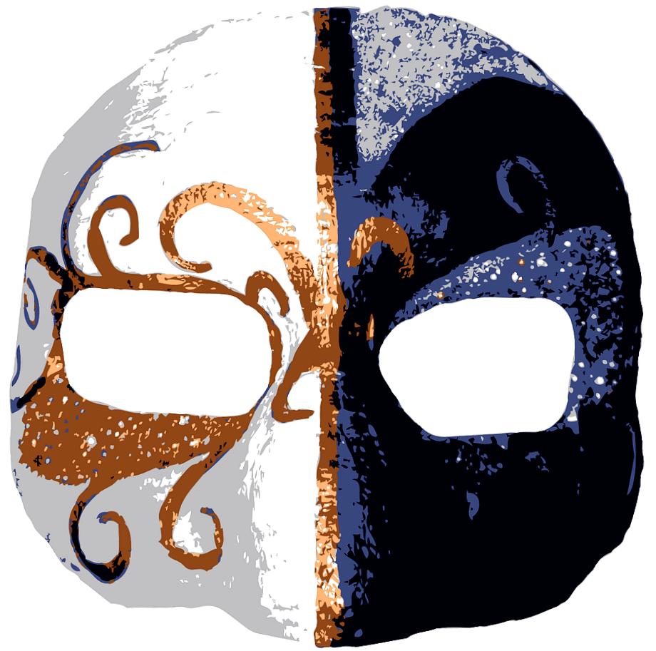 трафарет маски