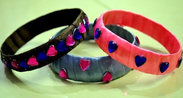 атласные браслеты