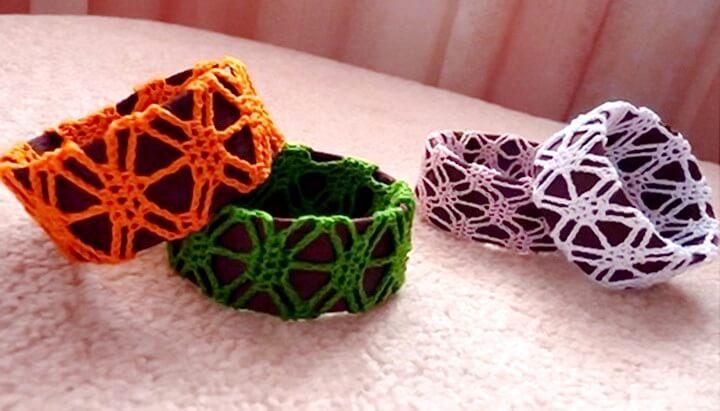 браслеты с вышивкой