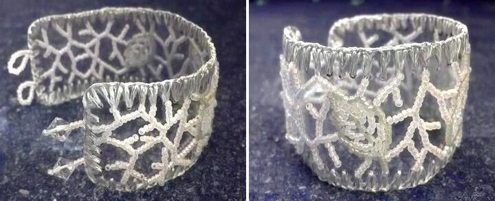 кружевные браслеты