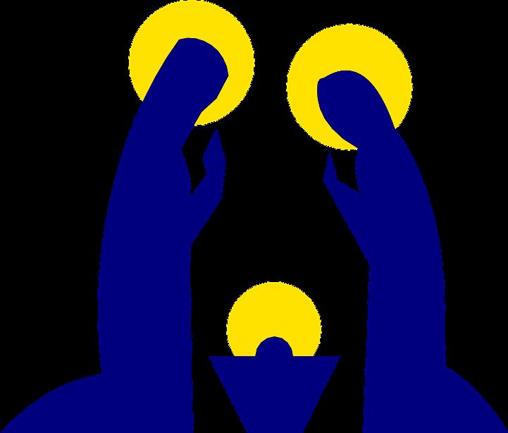 шаблон к рождеству христову