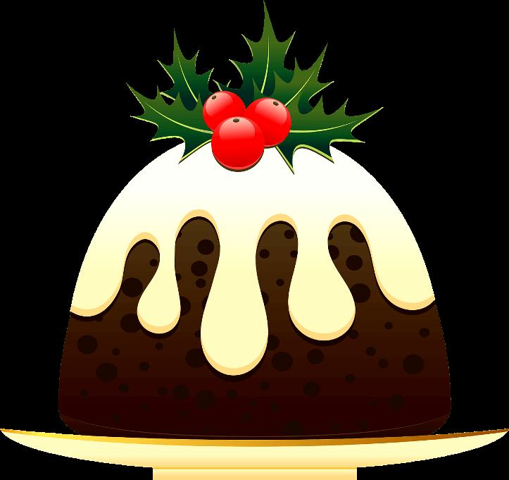 шаблон рождественский кулич