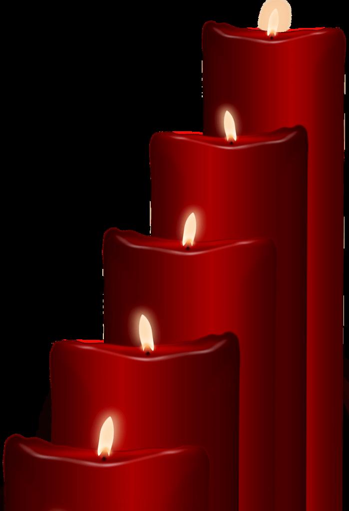 шаблон свечи