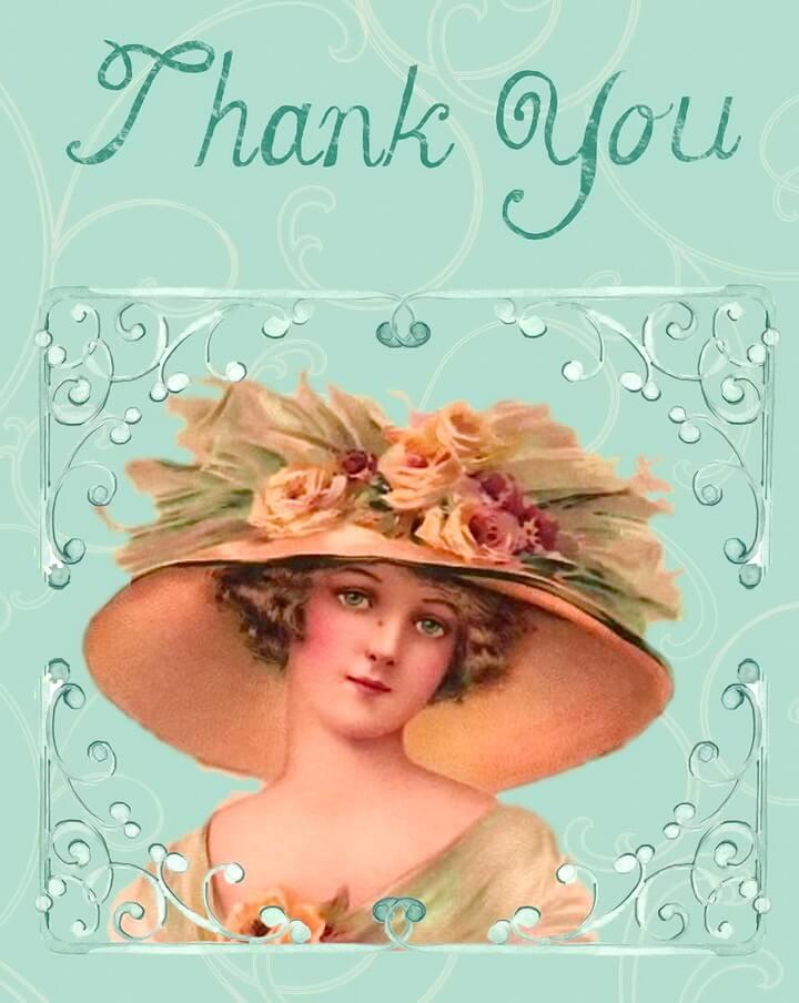 открытка день спасибо