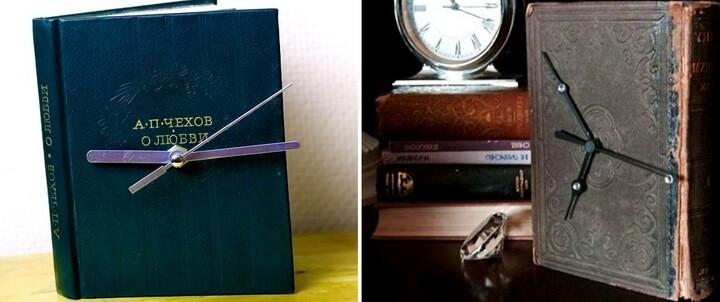 часы из книги