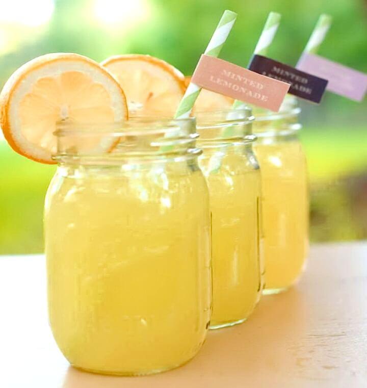 баночки с напитками