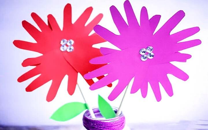 цветы поделка