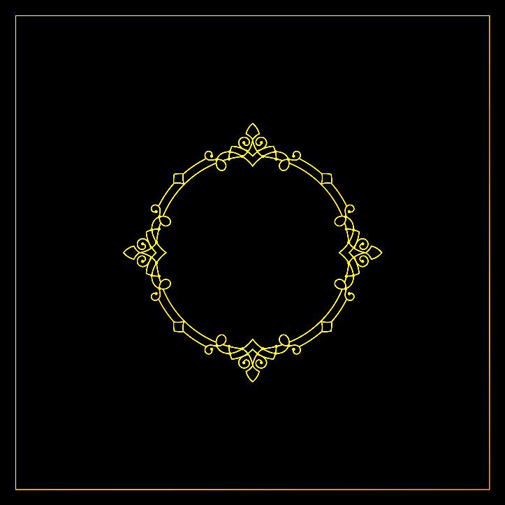 шаблон для декора