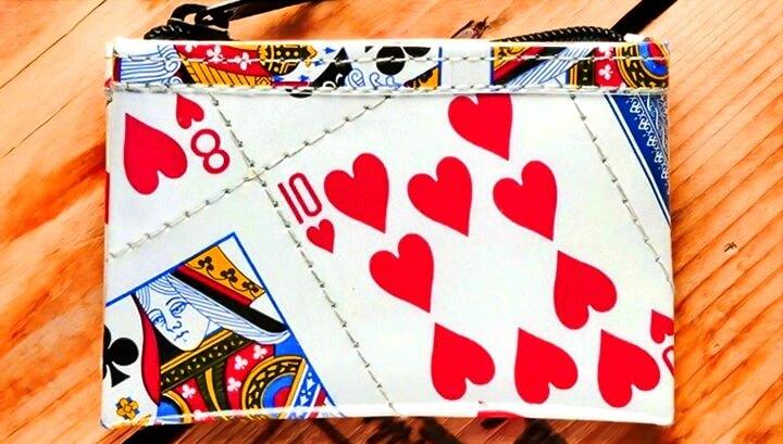 кошелек из карт