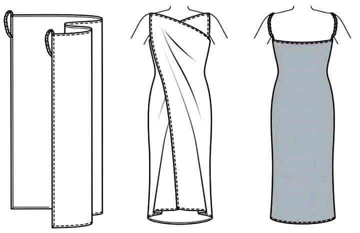 схема для платья