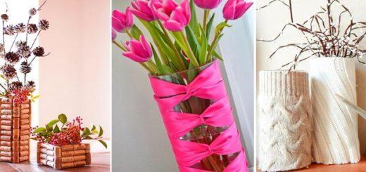 декор вазы