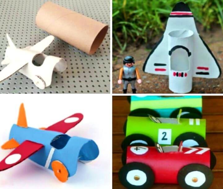 игрушки из втулок