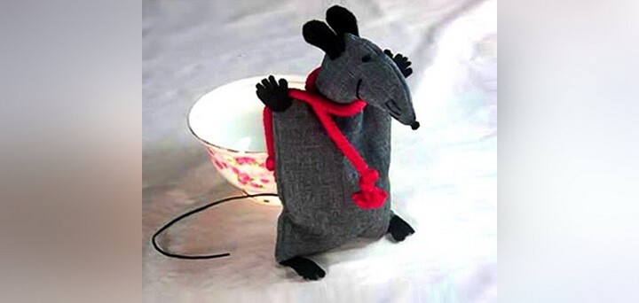 крыса-саше