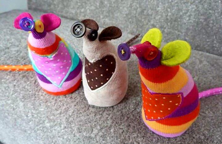 крысы из носков