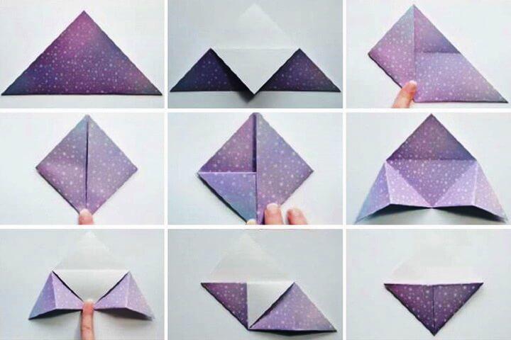 закладка оригами