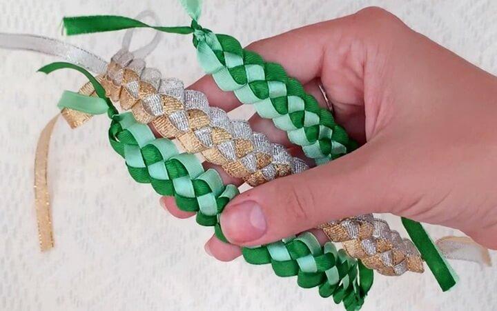 плетеные закладки