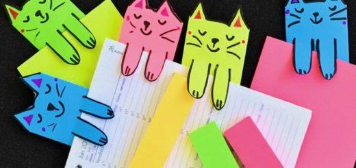 оригинальные закладки котики